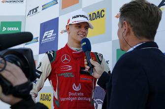 TV-Interview, Mick Schumacher, PREMA Theodore Racing Dallara F317 - Mercedes-Benz