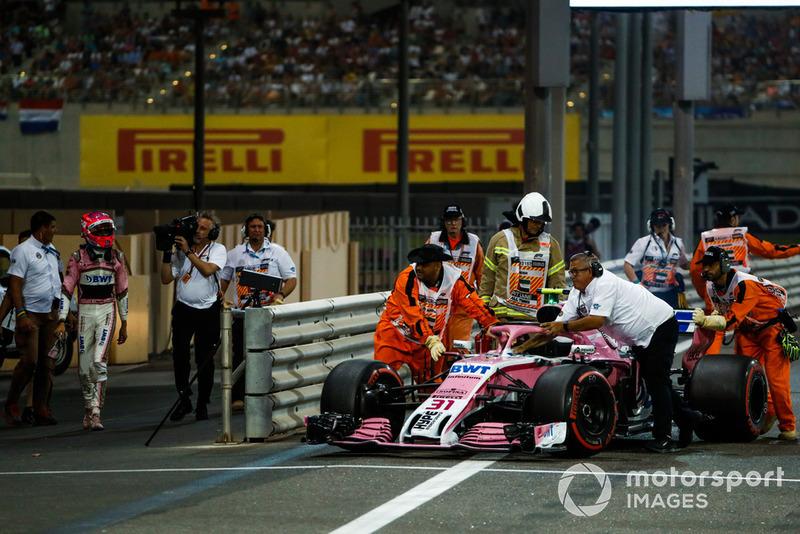 Маршали, Естебан Окон, Racing Point Force India VJM11
