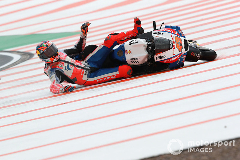 Sturz: Jack Miller, Pramac Racing