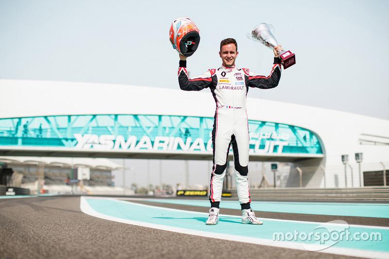 GP3: Антуан Юбер