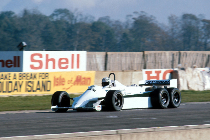 Alan Jones, 6-wheel Williams FW07D