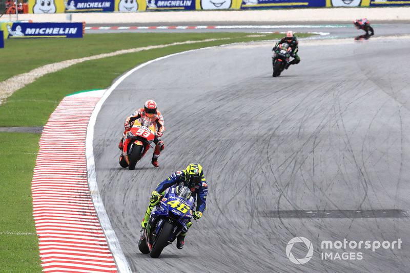 Valentino Rossi, Yamaha Factory Racing, Malaysian MotoGP. 2018