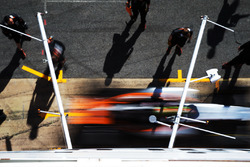 Серхио Перес, Sahara Force India F1 VJM09 в гараже