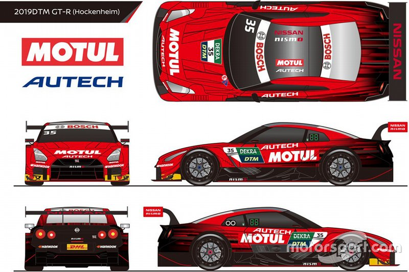 Nissan Super GT livery for DTM