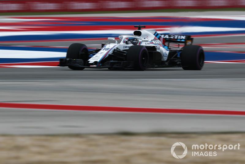 15º Lance Stroll, Williams FW41