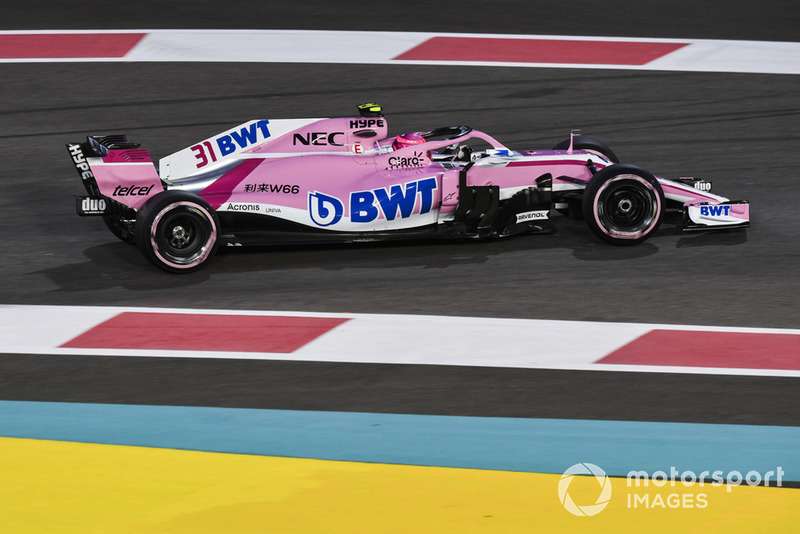 2018: Force India-Mercedes VJM11