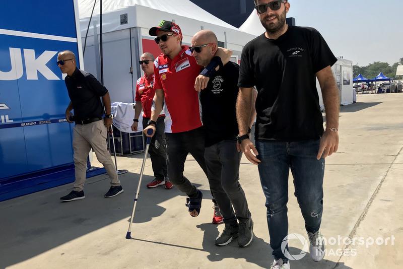 Травмований Хорхе Лоренсо, Ducati Team