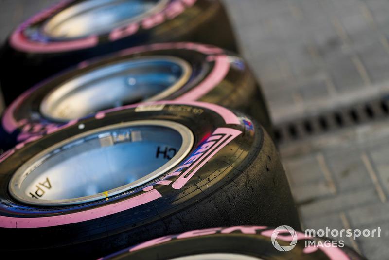 Pneumatici Pirelli nel paddock