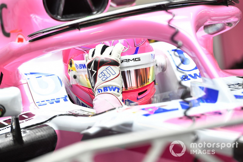 Esteban Ocon, Racing Point Force India F1 Team