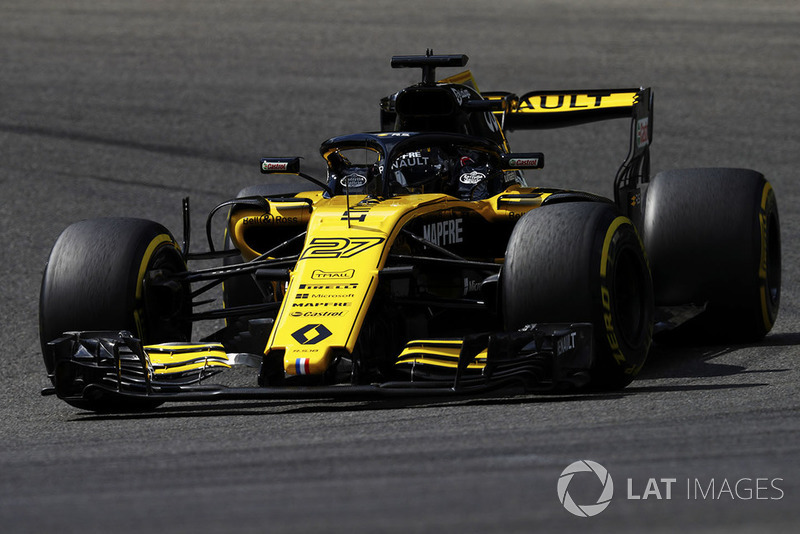 20. Nico Hülkenberg, Renault Sport F1 Team R.S. 18*