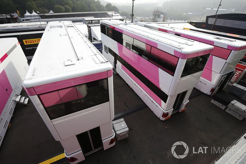 Camiones de Force India