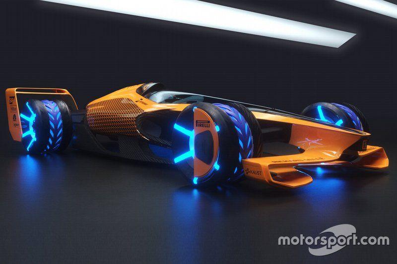 Vision de McLaren des Grands Prix 2050
