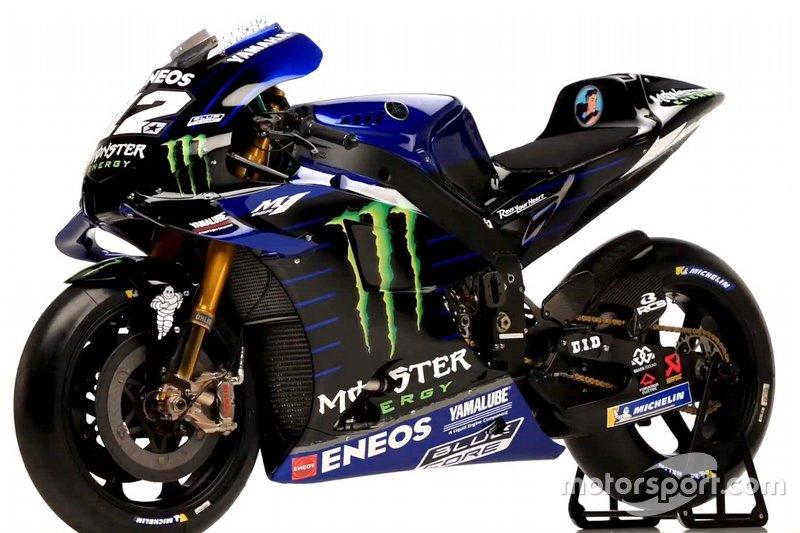 Bike von Maverick Vinales, Yamaha Factory Racing
