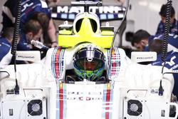 Felipe Massa, Williams, dans son cockpit