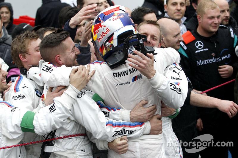 third place Marco Wittmann, BMW Team RMG, BMW M4 DTM