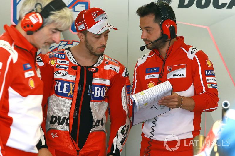 Gigi Dall'Igna, Geschäftsführer, Ducati Team, Andrea Dovizioso, Ducati Team