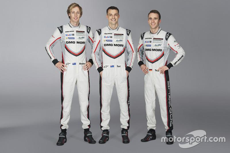 #2 Porsche Team, Porsche 919 Hybrid: Brendon Hartley, Earl Bamber, Timo Bernhard