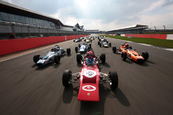 Tiff Needell leads the Formula Ford field