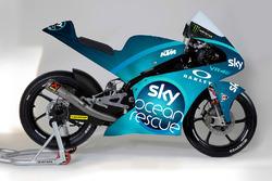 Moto Sky Racing Team VR46 con la livrea speciale