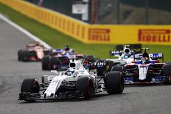 Felipe Massa, Williams FW40, Carlos Sainz Jr., Scuderia Toro Rosso STR12, Lance Stroll, Williams FW40