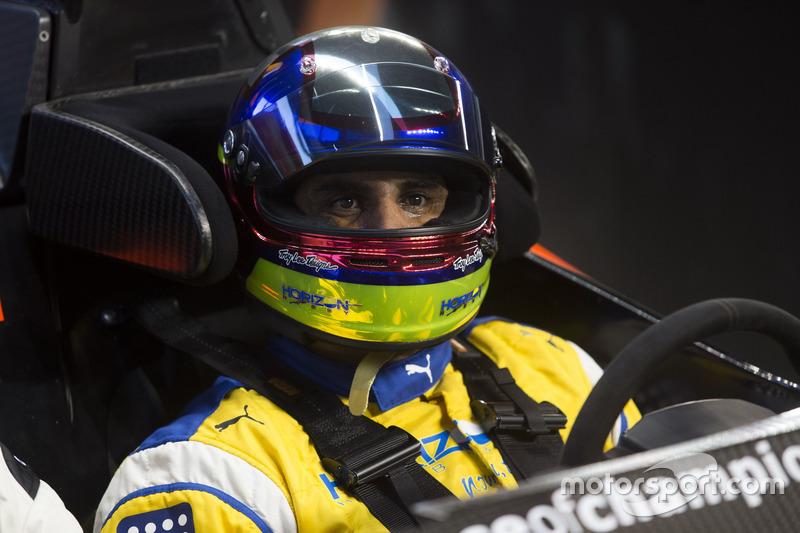 Juan Pablo Montoya, in de pits