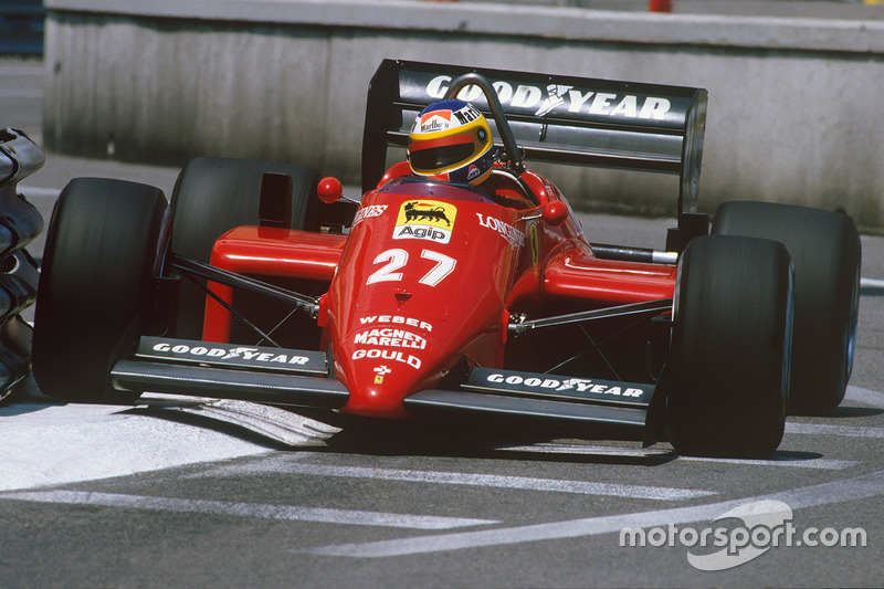 Millimeter perfect, Monaco '85, on his day of days.