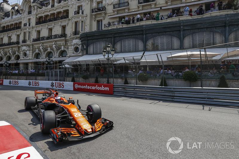 20. Jenson Button, McLaren MCL32 (Startplatzstrafe)