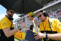 Nico Hulkenberg, Renault Sport F1 Team en la parrilla