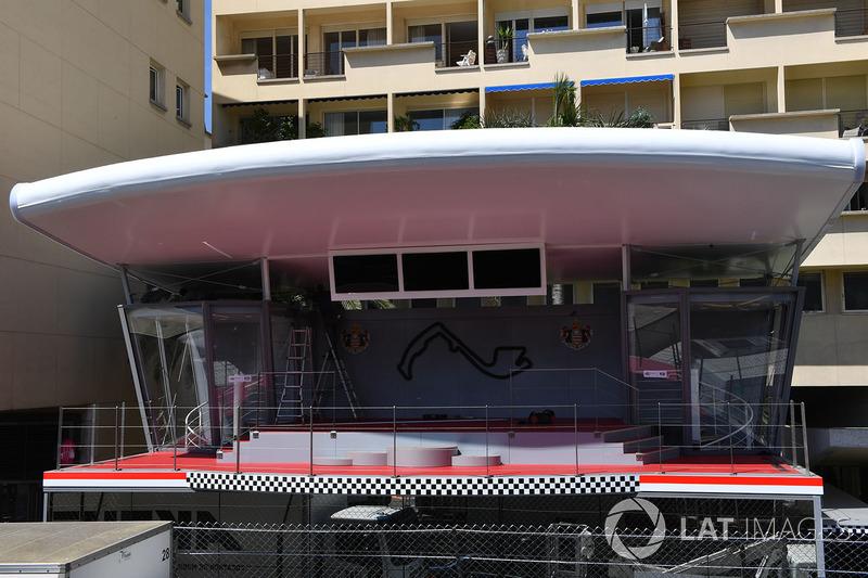 Podio del GP de Mónaco