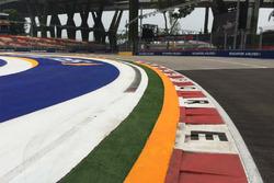 GP di Singapore: dettaglio del cordolo alla Curva 2