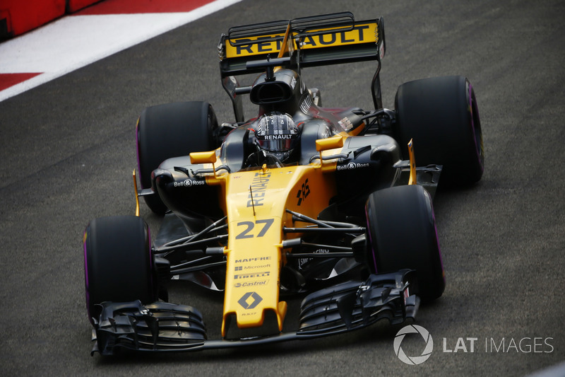 7. Nico Hulkenberg, Renault Sport F1 Team RS17