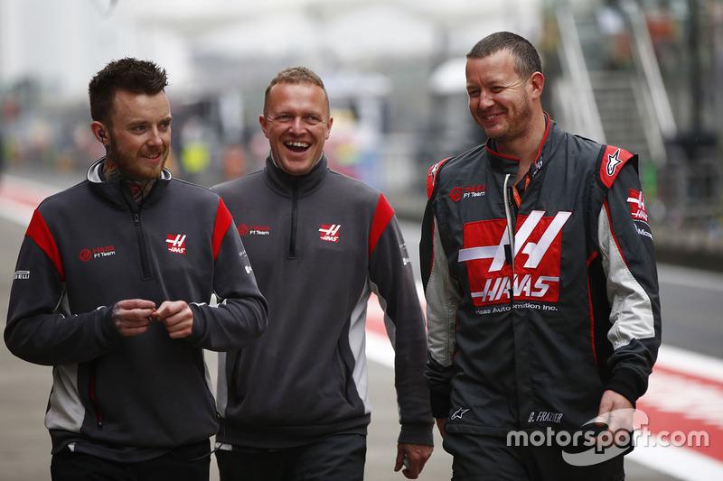Haas F1 Team team members