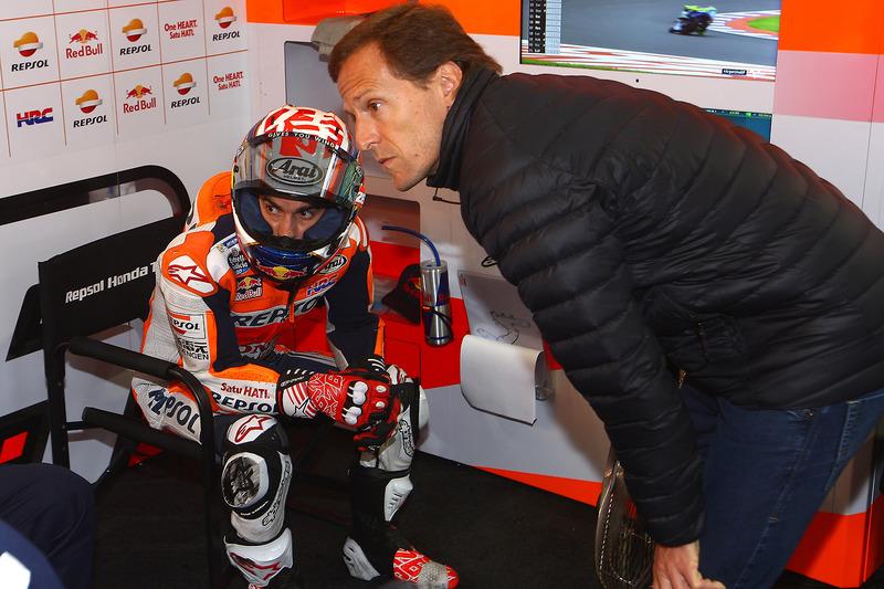 Dani Pedrosa, Repsol Honda Team, et Sete Gibernau