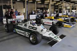 Demonstration eines Williams FW07 von Carlos Reutemann