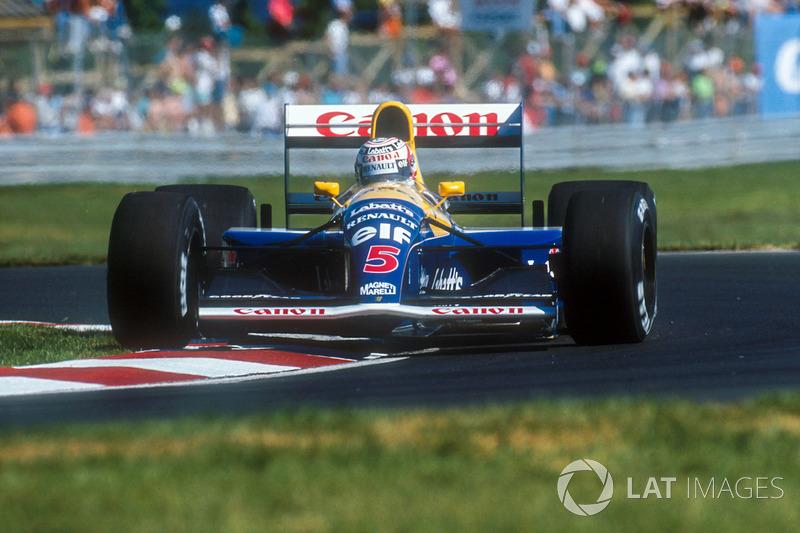 1991: Rückkehr zu Williams