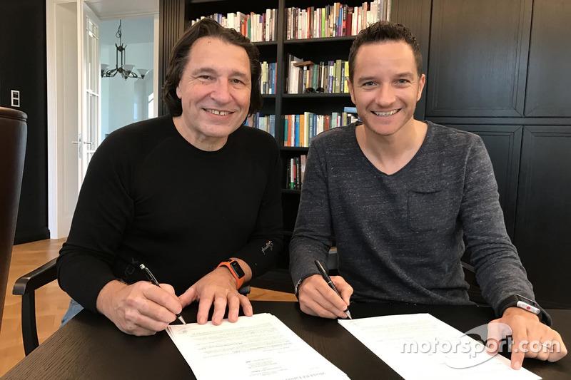 Max Pucher y Timo Scheider