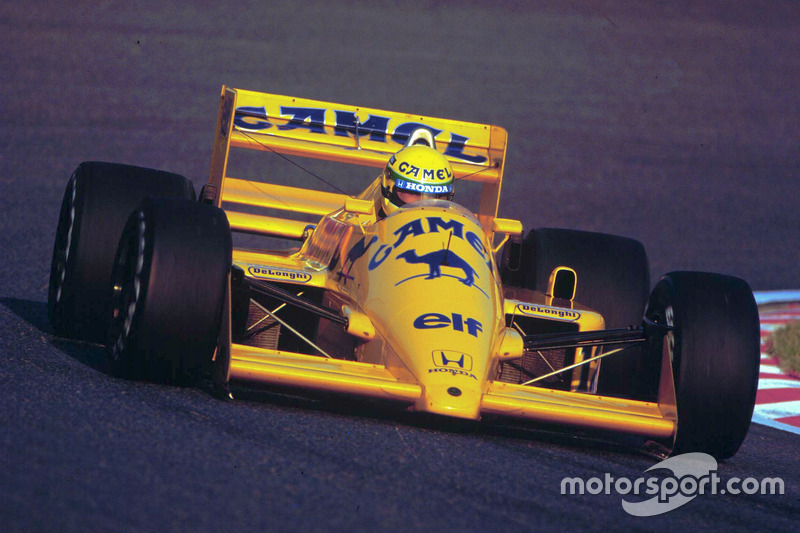 #12: Ayrton Senna, Team Lotus, Honda 99T