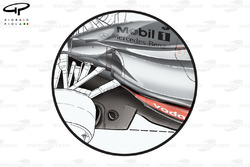 McLaren MP4-24 2009 floor development