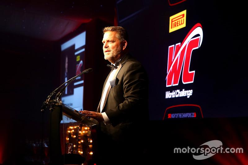 Greg Gill,  Presidente del desafío mundial Pirelli y CEO