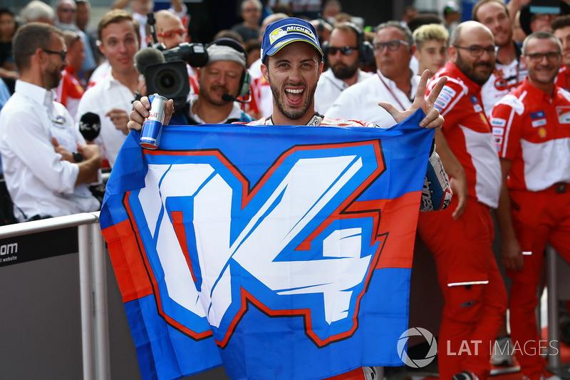Foi a terceira vitória de Andrea Dovizioso em 2017.