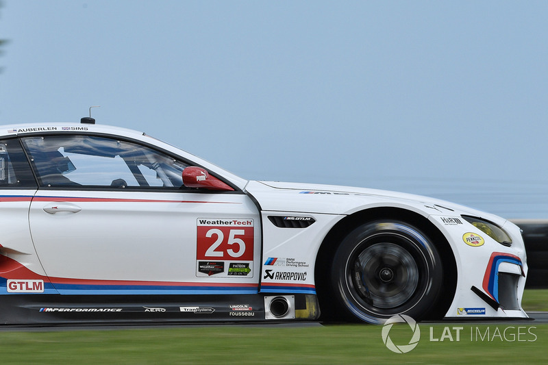 #25 BMW Team RLL BMW M6 GTLM: Білл Оберлен, Александр Сімс