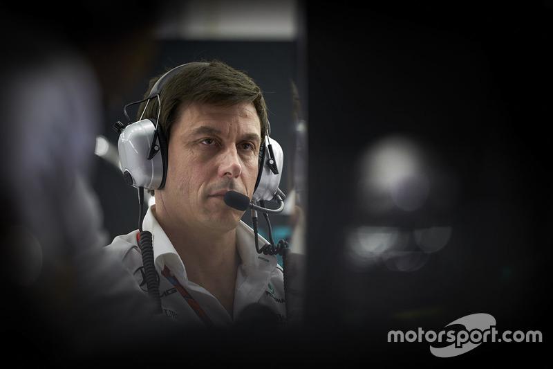 Toto Wolff, directeur exécutif Mercedes AMG