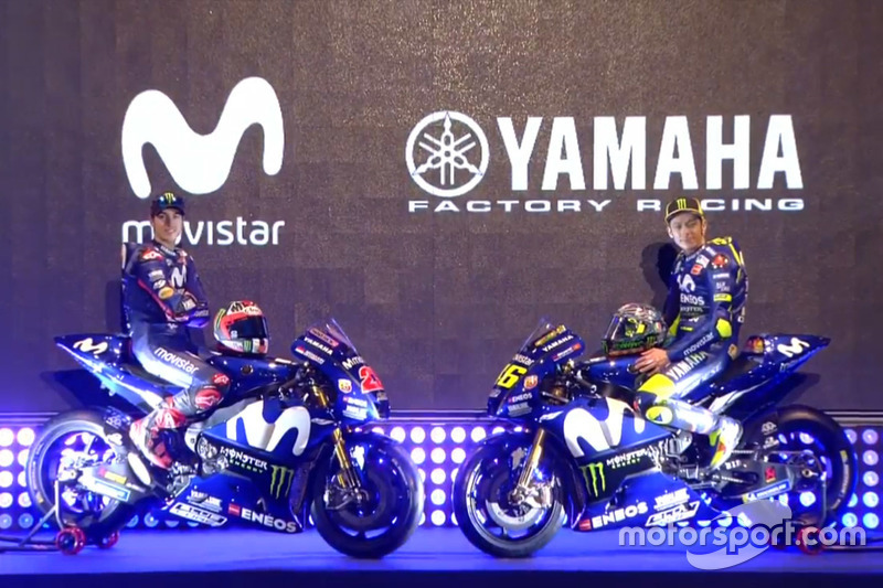 Валентино Россі, Маверік Віньялес, Yamaha Factory Racing