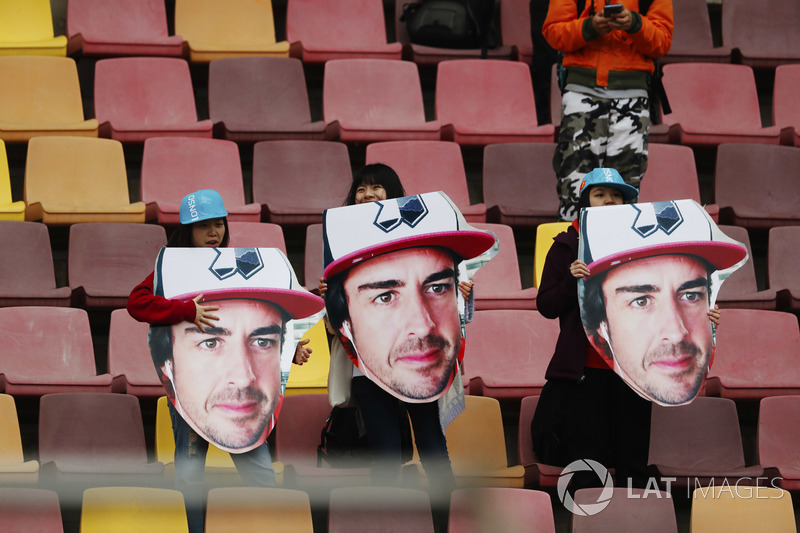 Fan Fernando Alonso, McLaren