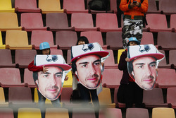Fans of Fernando Alonso, McLaren
