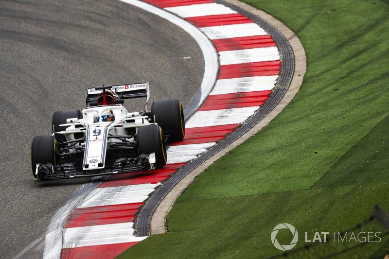 20. Marcus Ericsson, Sauber C37 Ferrari