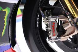 Frenos Brembo en la moto de Valentino Rossi, Yamaha Factory Racing