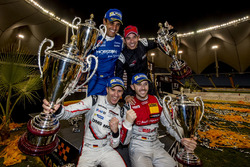 Podium: Winners Nationcup Timo Bernhard, René Rast, second place Juan Pablo Montoya, Helio Castroneves