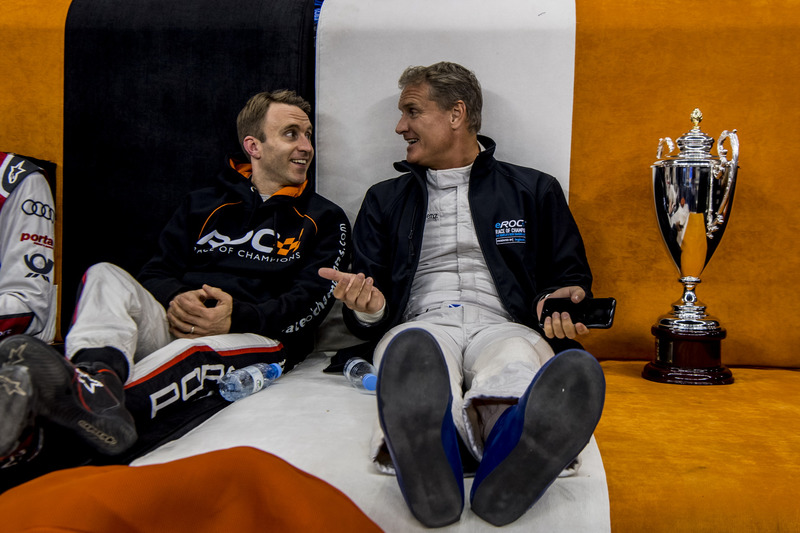 David Coulthard y Timo Bernhard