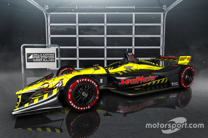 Dale Coyne Racing livery announcement